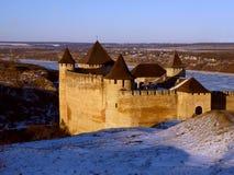 fortress hotyn ukraine western Стоковое Изображение