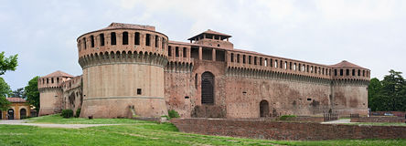 Fortress of Imola Stock Images