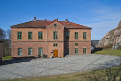 Fortress In Halden (the Education Area) Royalty Free Stock Photo