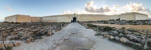 Fortress In Ponta De Sagres Stock Photography