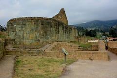 Fortress of Ingapirca. Fortaleza de Ingapirca archaeological complex located in the province of Cañar, Ecuador Royalty Free Stock Photos