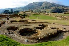 Fortress of Ingapirca. Fortaleza de Ingapirca archaeological complex located in the province of Cañar, Ecuador Stock Photography