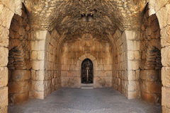 Fortress Inside Royalty Free Stock Photo