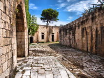 Fortress / Old army stone building Stock Photography