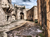 Fortress / Old army stone building Stock Image