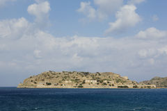 The fortress island of Spinalonga Stock Images