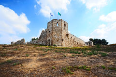 Fortress in Israel Royalty Free Stock Image