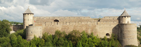 Fortress Ivangorod Royalty Free Stock Photo