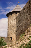Fortress in Ivangorod Royalty Free Stock Photo