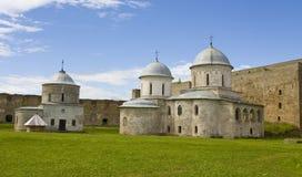 Fortress Ivangorod, Russia Stock Photo