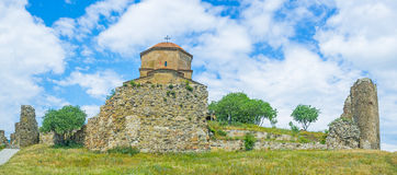 The fortress of Jvari Stock Images