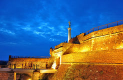 Fortress Kalemegdan at dawn Stock Photography
