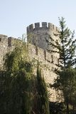 Fortress Of Kalemegdan Tower in Belgrade Royalty Free Stock Image
