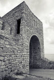 Fortress on Kaliakra headland, Bulgaria, Black Sea Coast Royalty Free Stock Photography