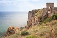 Fortress on Kaliakra headland, Bulgarian Black Sea Coast Royalty Free Stock Images