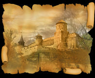 Fortress in Kamianets-Podilskyi, Ukraine Royalty Free Stock Photography