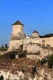Fortress in Kamianets-Podilskyi Stock Image