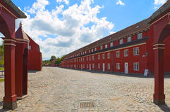 Fortress Kastellet Stock Photography
