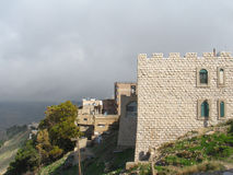 Fortress of Kerak Stock Image