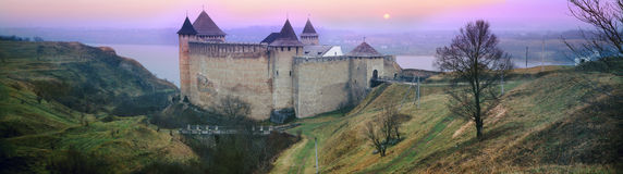 Fortress Khotyn Royalty Free Stock Photos