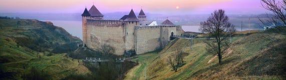 Fortress Khotyn Royalty Free Stock Photos