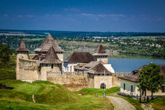 Fortress in Khotyn Royalty Free Stock Photos