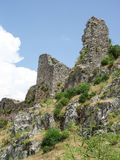 Fortress of the Knights of the Ioannites near Fethiye XV centur. Y. Turkey Royalty Free Stock Image