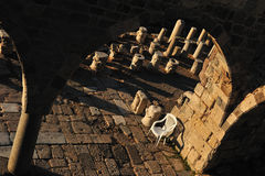 Fortress of the Knights of Saint John of Rhodes Royalty Free Stock Images