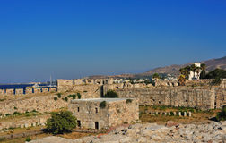 Fortress of the Knights of Saint John of Rhodes Royalty Free Stock Photo