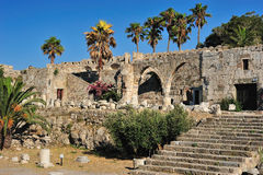Fortress of the Knights of Saint John of Rhodes Royalty Free Stock Image