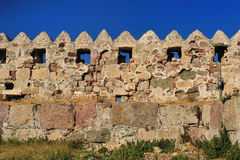 Fortress of the Knights of Saint John of Rhodes Royalty Free Stock Photography