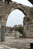 Fortress of the Knights of Saint John of Rhodes on Stock Images