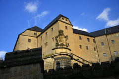 Fortress Koenigstein, Saxony Royalty Free Stock Photo