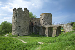A fortress Koporye in Leningrad region Royalty Free Stock Photography