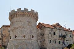 Fortress in Korcula. Croatia Royalty Free Stock Photo