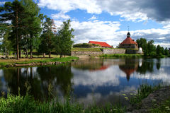 Fortress Korela (Kareliya). Travel to Kareliya by car. Vicinities lake Ladoga. An ancient Russian fortress Stock Images