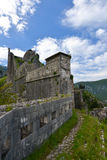 Fortress of Kotor. The city walls and the fortress of Kotor, Montenegro Royalty Free Stock Photos