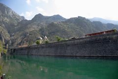 Fortress of Kotor Stock Image