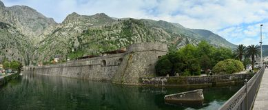 Fortress in Kotor, Montenegro. Royalty Free Stock Photo