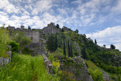 Fortress of Kotor Royalty Free Stock Images