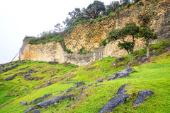 Fortress in Kuelap, Peru Stock Photo