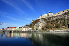 Fortress kufstein Stock Photography