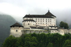 Fortress kufstein Royalty Free Stock Images