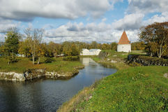 Fortress in Kuressaare Royalty Free Stock Images