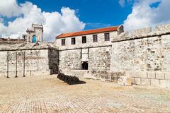 The fortress of La Fuerza in Havana, Cuba Stock Photography