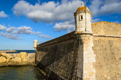 The fortress of Lagos, Portugal Royalty Free Stock Photo
