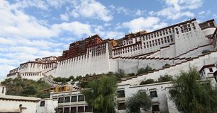 Fortress in Lhasa Stock Photo