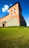 Fortress in the Lida city Royalty Free Stock Photo