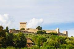 Fortress of the Lion in Castiglione del Lago, Umbria Stock Photography
