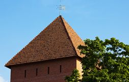Fortress. The fortress located in the city Lida, Belarus Stock Photography